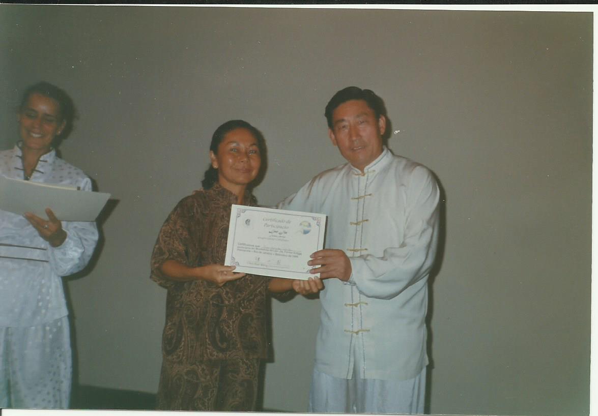 mestre Shen Xiao Wan, 1998